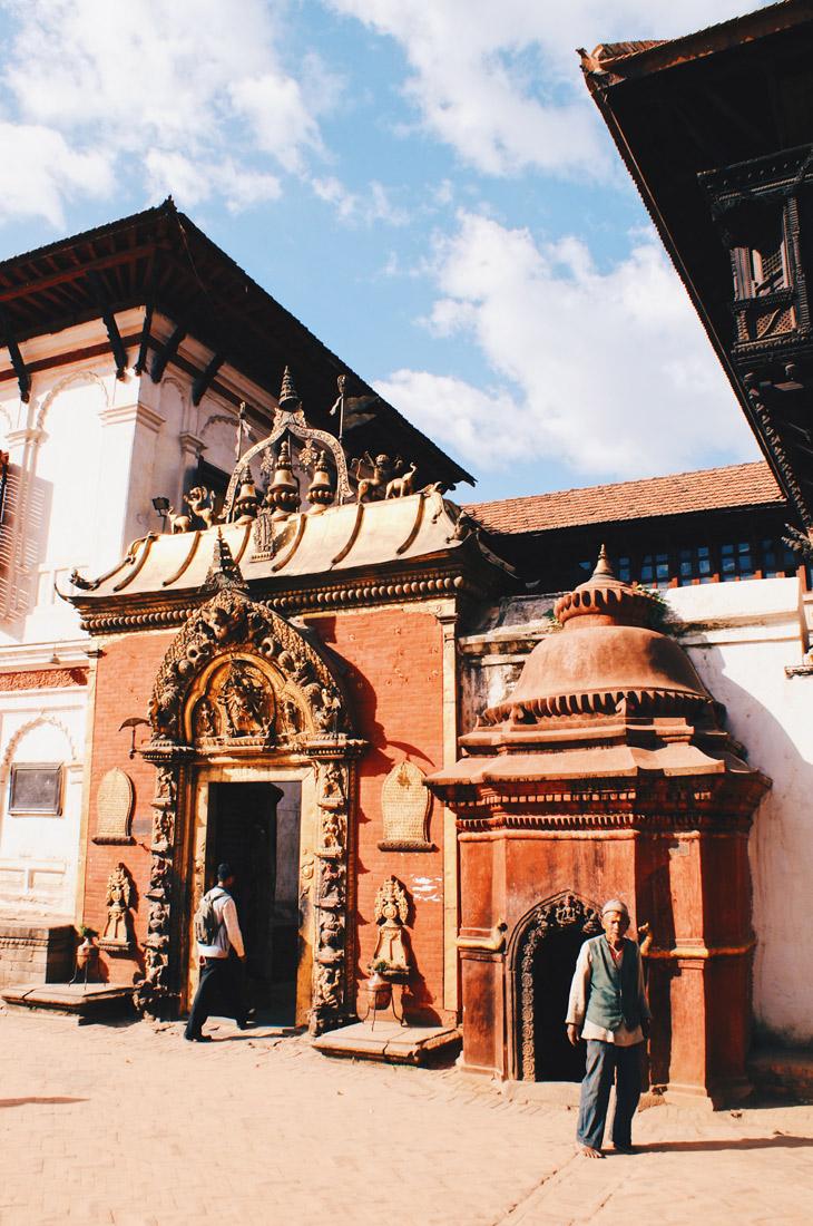 Famous Golden Gate of Bhaktapur | Gay Travel Nepal Photo Story Himalayas © Coupleofmen.com