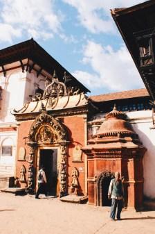Famous Golden Gate of Bhaktapur   Gay Travel Nepal Photo Story Himalayas © Coupleofmen.com