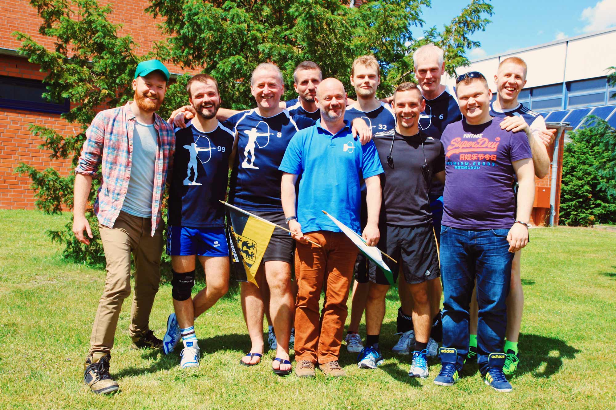 Gay Travel Berlin Goldelsen-Cup Volleyball Tournament © CoupleofMen.com
