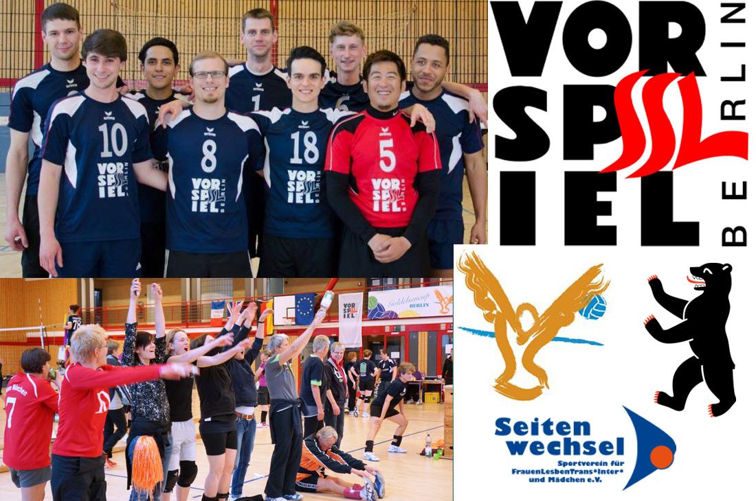 Goldelsen-Cup Berlin Gay Lesbian Volleyball Tournament © SSL Vorspiel & Seitenwechsel Berlin