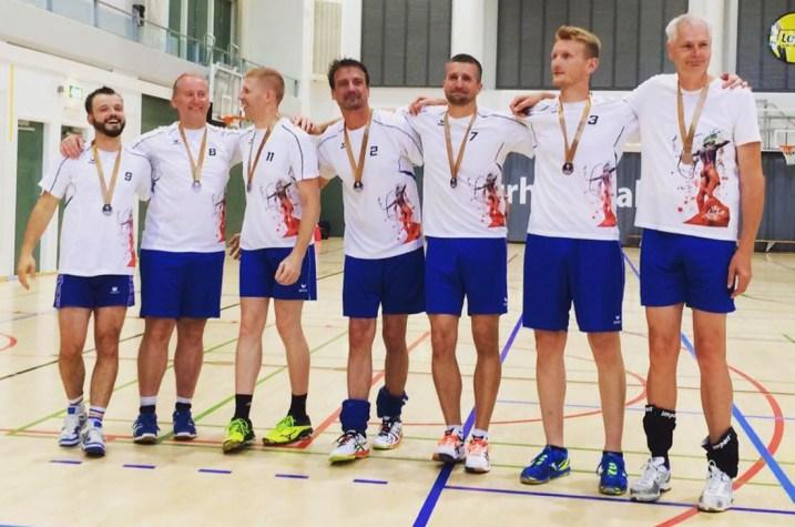 Karl and his Team EuroGames Helsinki | Gay Travel Berlin Goldelsen-Cup Volleyball Tournament © CoupleofMen.com