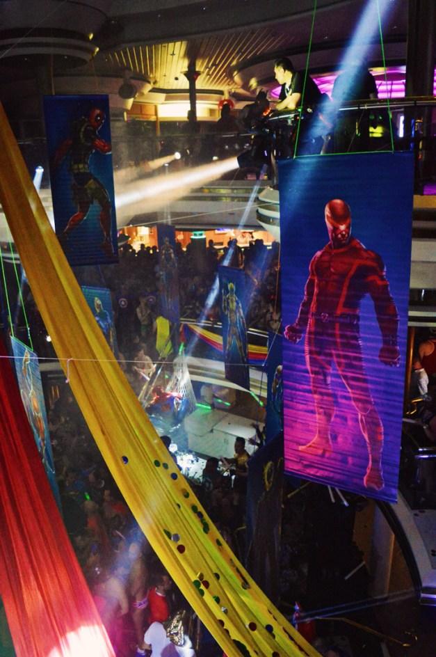 Superhero Party | Gay Couple Travel Diary The Cruise 2017 © CoupleofMen.com