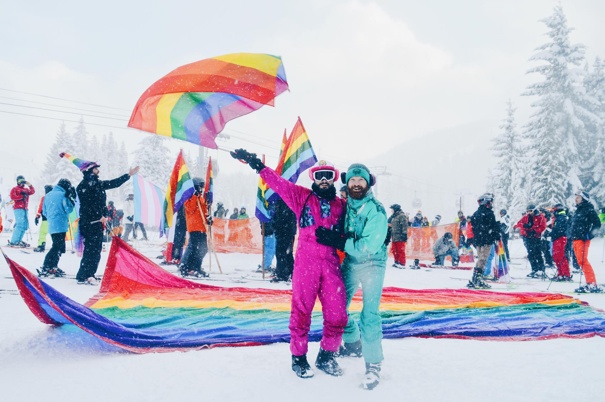 Whistler Pride & Ski Festival | Whistler Pride 2018 Gay Ski Week © CoupleofMen.com