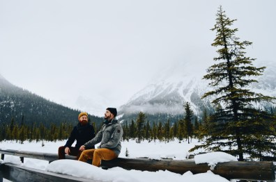 Take your time while exploring the Canadian Rocky Mountain nature | Emerald Lake Lodge gay-friendly © Coupleofmen.com