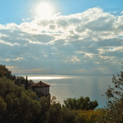 Gay Couple Travel France City Weekend Nice View over the coast of the City of Nice - Gay Couple City Weekend Nice © CoupleofMen.com