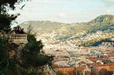 View over the harbor of the City of Nice - Gay Couple City Weekend Nice © CoupleofMen.com