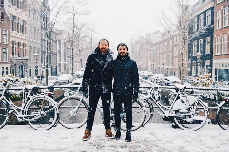 Snow in Amsterdam: A Winter Day in Holland's Capital