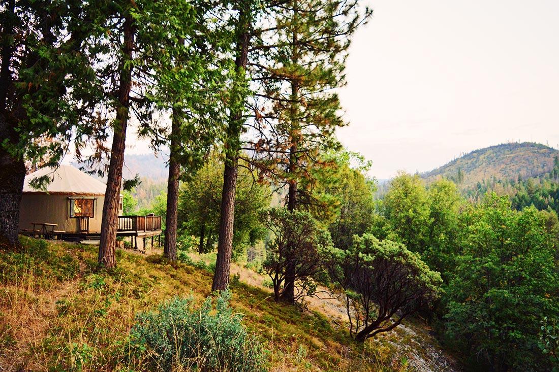 Embedded into the nature of Yosemite National Park © Coupleofmen.com