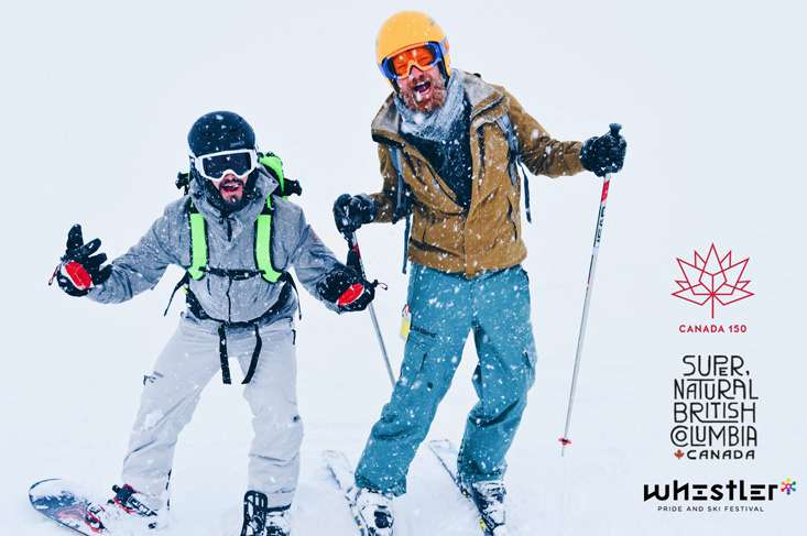 Whistler Pride & Ski Festival 2018: See you all during the Canadian Gay Ski Week!