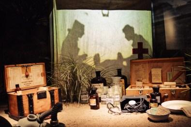 Everything you need during your safari malaria outbreak | Legendary Trunks Exhibition Amsterdam © Coupleofmen.com