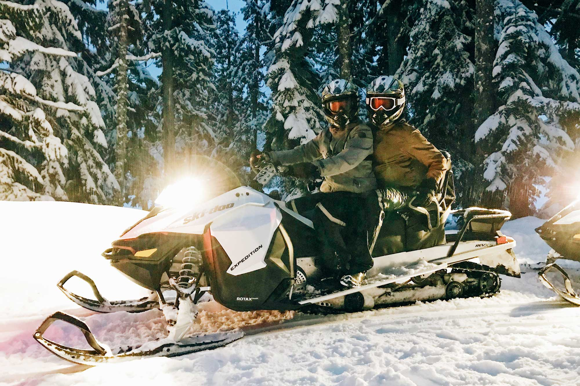 The Adventure Group Whistler | Zip Lining Snowmobiling TAG Whistler © Coupleofmen.com