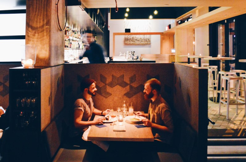 Dinner for Two at Juniper | Gay-friendly Restaurants Vancouver © Coupleofmen.com