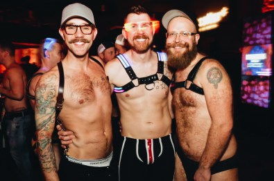 Or just come in your favorite fetish gear | Whistler Pride 2018 Gay Ski Week © Steve Polyak