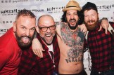 After show fun with Daan and Rocco Stowe (boyfriend of Margaret Cho) | Whistler Pride 2018 Gay Ski Week © Darnell Collins