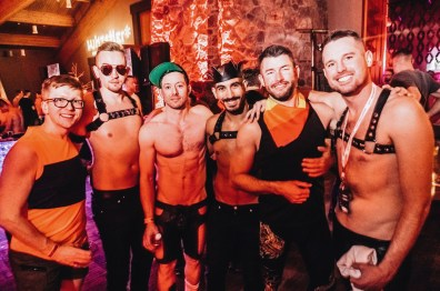 All kind of sexy gear is welcome | Whistler Pride 2018 Gay Ski Week © Chris Geary