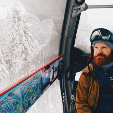 Skiing and Snowboarding in fresh Canadian Powder | Whistler Pride 2018 Gay Ski Week © Coupleofmen.com