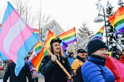 Pride for everyone - queer, gay lesbian trans | Whistler Pride 2018 Gay Ski Week © Coupleofmen.com