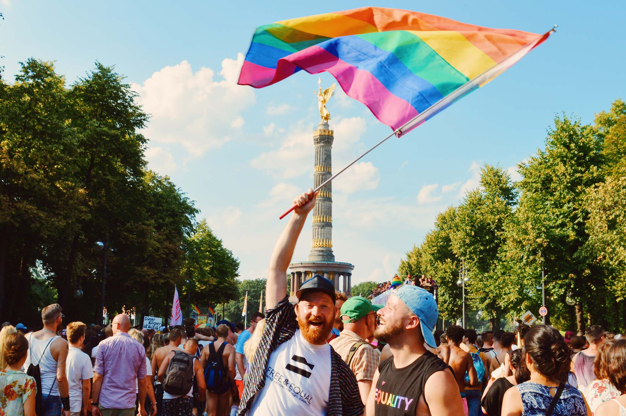 Gay Pride Calendar Germany 2019 © Coupleofmen.com