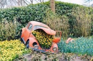 Don't forget to buy a parking ticket ;) | Keukenhof Tulip Blossom Holland © Coupleofmen.com