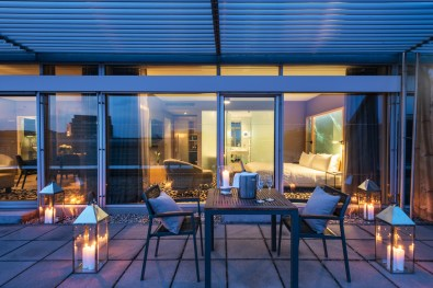 Terrace Suite at Le Méridien Vienna | The 25th Life Ball Vienna Austria © Le Méridien Vienna