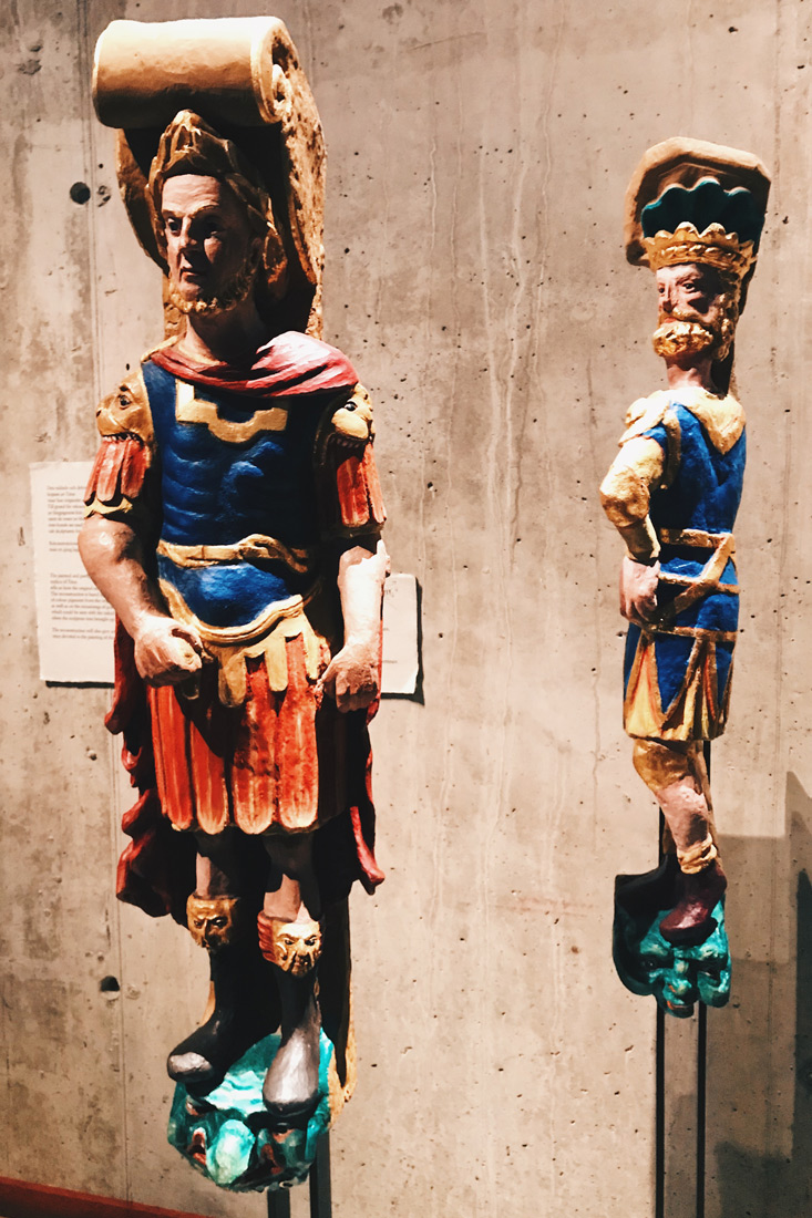 Reconstructed sculptures of the Vasa Ship   Gay Travel Tips for EuroPride 2018 Stockholm © Coupleofmen.com