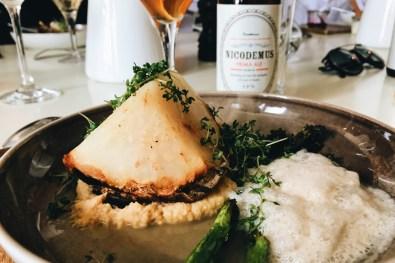 "Delicious vegetarian cuisine at Hotel Skeppsholmen restaurant ""Långa Raden"" | Gay Travel Tips for EuroPride 2018 Stockholm © Coupleofmen.com"