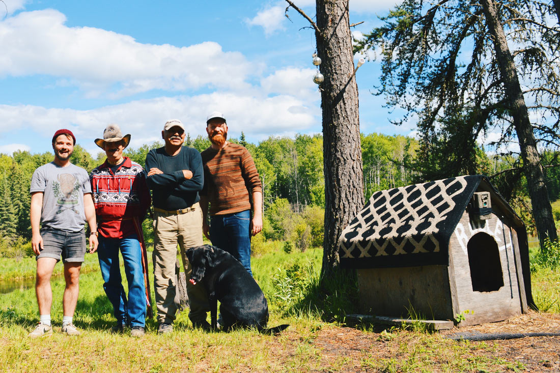Meeting the Elder Walter Quinn northeast of Lac La Biche learning about First Nations | Road Trip Edmonton Northern Alberta © Coupleofmen.com