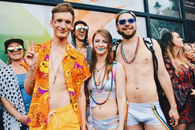 Standing together peacefully and diverse | Gay Edmonton Pride Festival © Coupleofmen.com