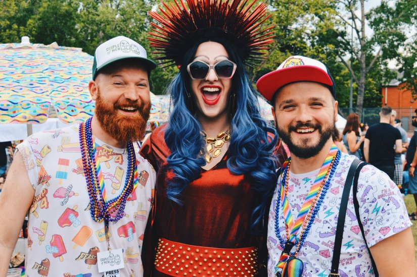 "Celebrating Equality at ""Pride in the Park"" with Drag Queens 