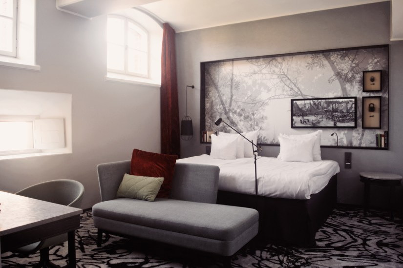 Former cells transformed into luxurious hotel rooms | Katajanokka Hotel Helsinki Gay-friendly Review © Coupleofmen.com