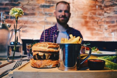 According to Karl: This is the best burger you can eat at least in Finland | Katajanokka Hotel Helsinki Gay-friendly Review © Coupleofmen.com