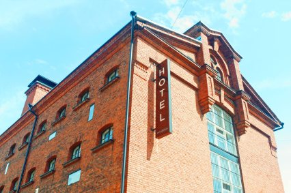 Prison complex built out of red bricks | Katajanokka Hotel Helsinki Gay-friendly Review © Coupleofmen.com