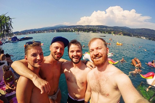 Best of Photos & Videos of Pink Lake Festival 2017 in Velden am Wörthersee © Coupleofmen.com