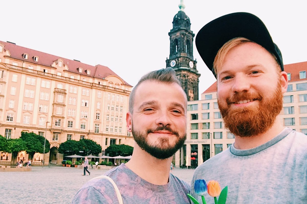 Gay Travel Germany | Gay Couple City Weekend Dresden © CoupleofMen.com