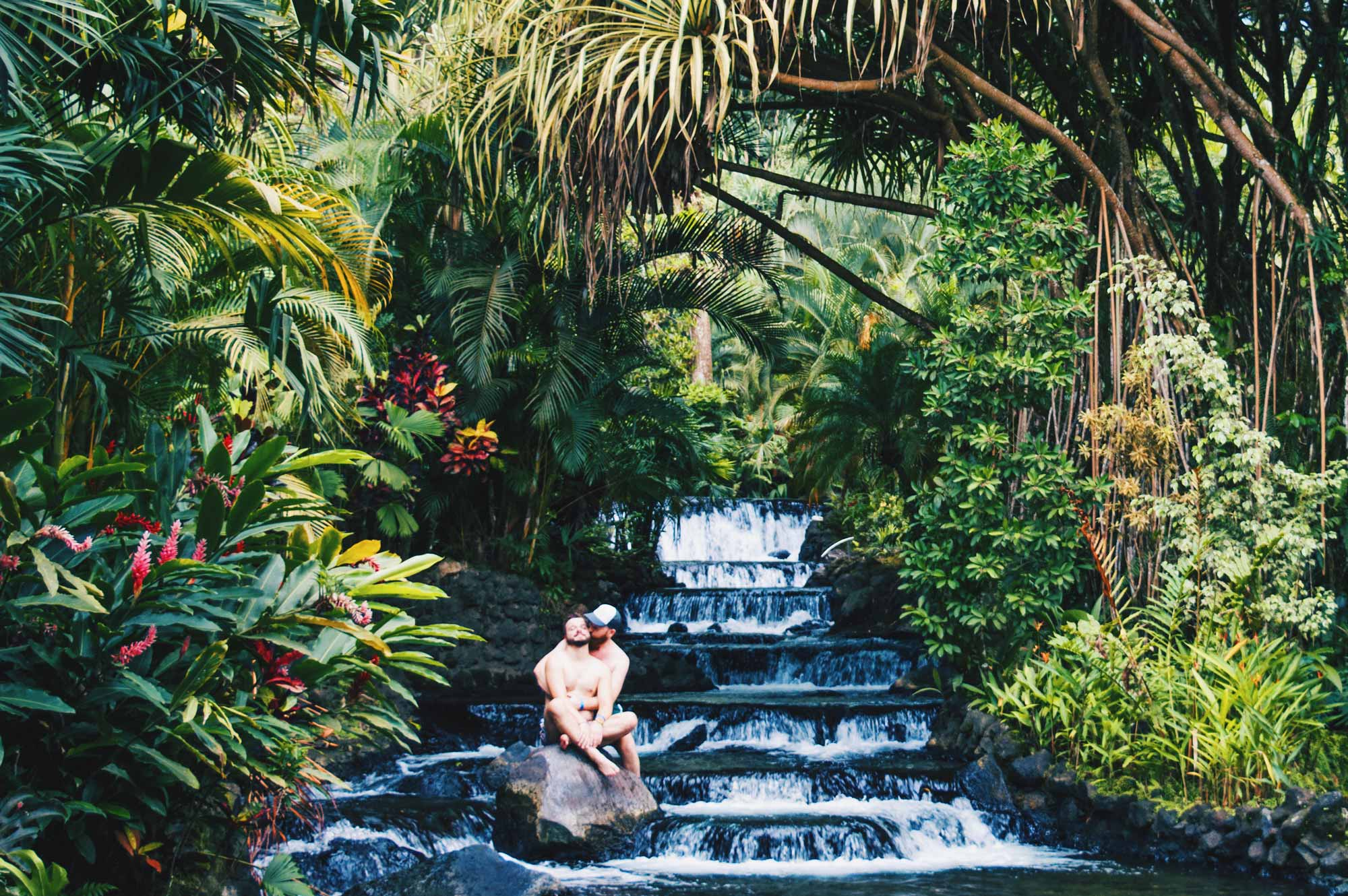 Truly magical nature at gay-friendly Tabacon Hot Springs Resort & Spa | Gay-friendly Costa Rica © Coupleofmen.com