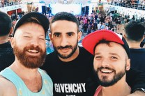Nice to see you again Eliad Cohen | Gay Cruise by Open Sea Cruises x Axel © Coupleofmen.com