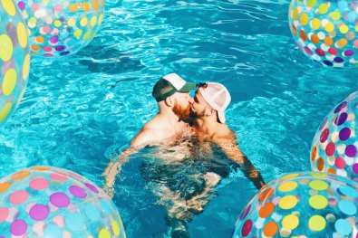 Pool party in the afternoon, costume parties at night | Gay Cruise by Open Sea Cruises x Axel © Coupleofmen.com