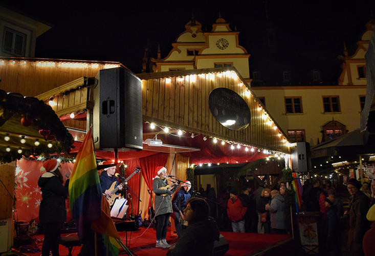 Gay Weihnachtsmärkte Deutschland Gay Christmas Market in Darmstadt | Gay Christmas Markets 2018 in Germany © Vielbunter Weihnachtsmarkt