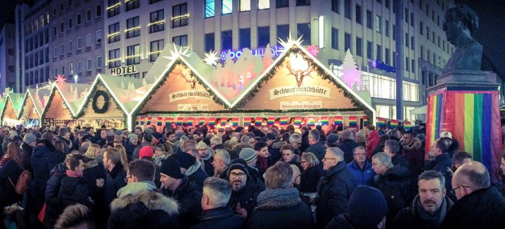 Pink Monday Düsseldorf | Gay Christmas Markets 2018 in Germany © Metropol events GmbH