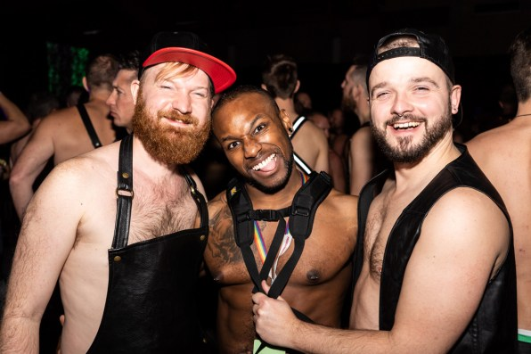 Whistler Pride Ski Festival Whistler Pride Gay Skiwoche It's getting hot (and sexy) in hear with our good Canadian friend Darnell who is also the main party photographer © Whistler Pride/ Photo by Darnell Collins
