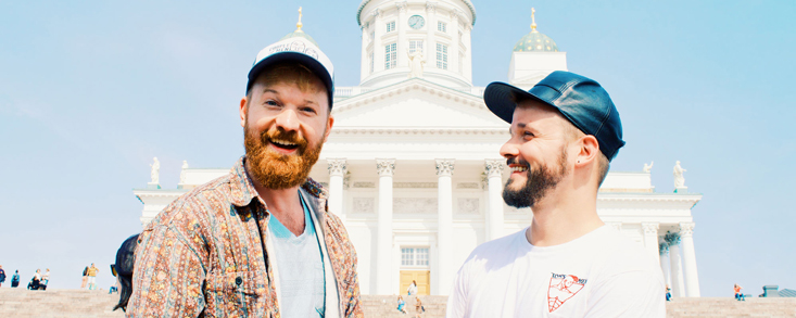 Our Gay Couple City Weekend Helsinki Finnland Spartacus Gay Travel Index 2019© CoupleofMen.com