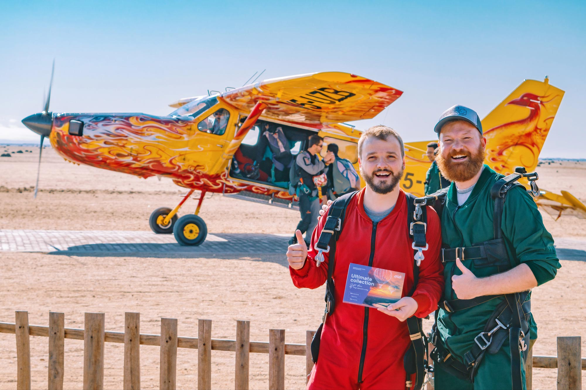 Sky Diving Namibia Swapokmund with Tinggly Experience Gift Boxes