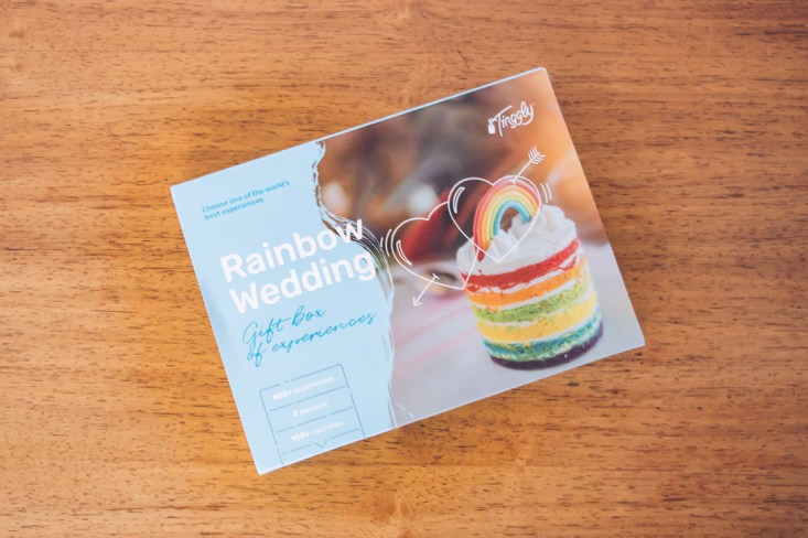 Rainbow Wedding - Tinggly Experience Gift Boxes