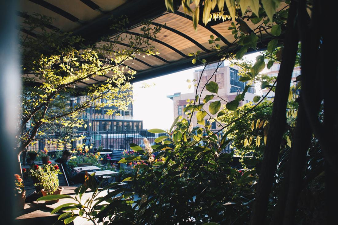 Gay Reise New York Dinner overlooking the rooftops of Chelsea, Manhattan   New York City for World Pride 2019 © Coupleofmen.com
