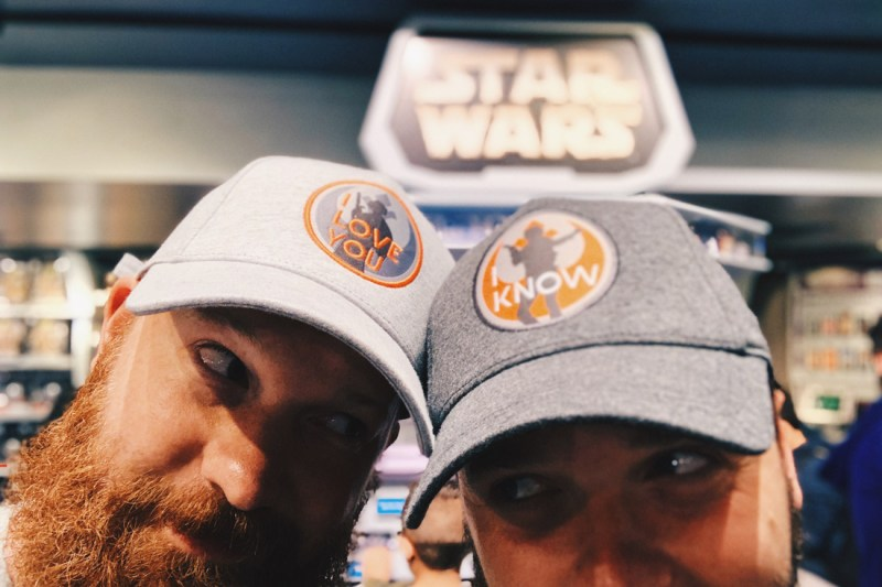 Star Wars Caps I Love You I know bearded gay travel blogger