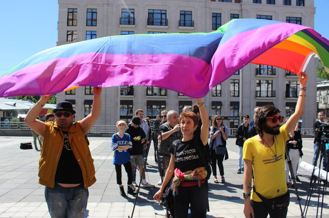 Zur aktuellem Situation der LGBTQ+ in Georgien © Mikheil Meparishvili www.netgazeti.ge