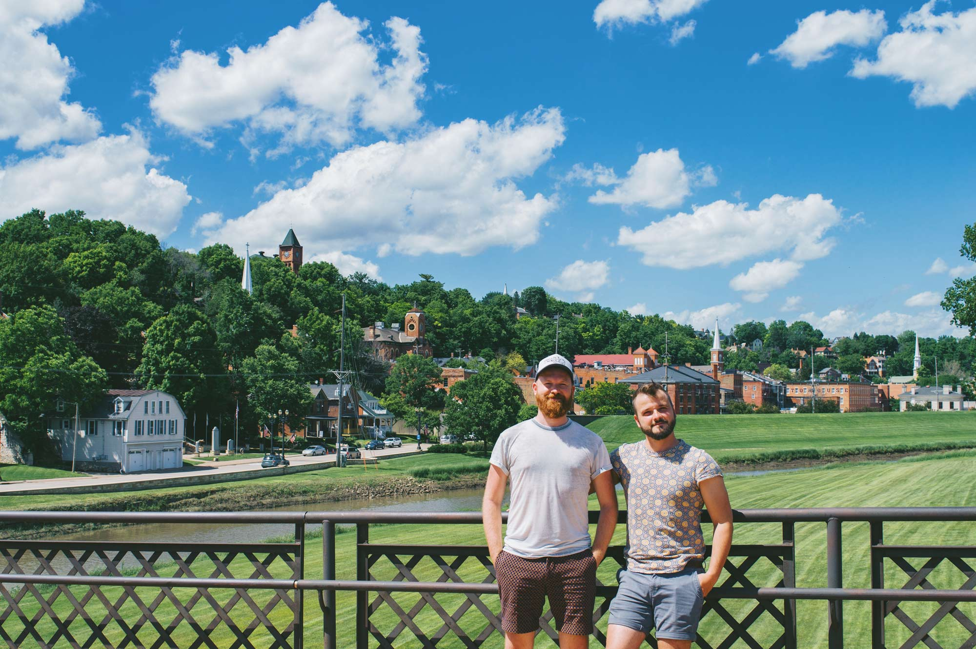 Gay Galena LGBT Getaway Illinois Galena Illinois Road Trip Galena Gay Getaway Illinois Galena LGBTQ+ and Gay Getaway Illinois © Coupleofmen.com