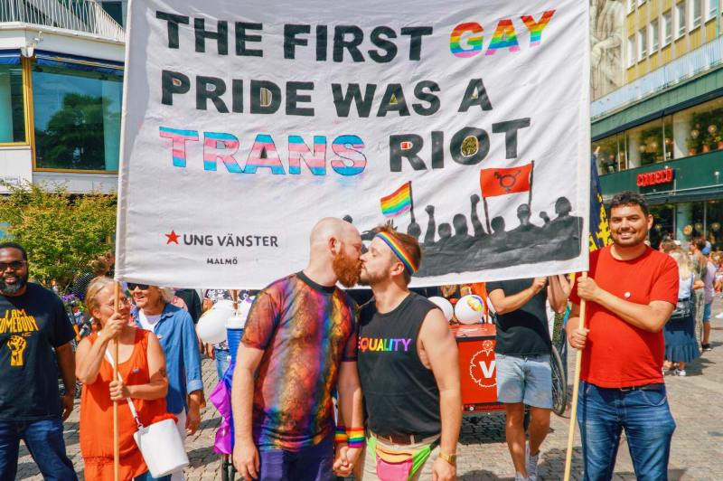 LGBTQ+ Pride: Pride LGBTQ+ rights Movement Malmö Pride 2019 © Coupleofmen.com