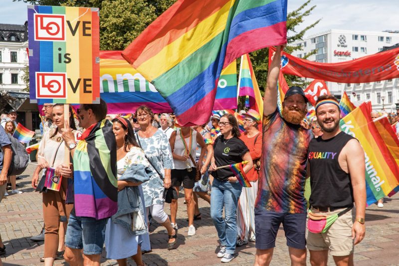 Gay Malmö Travel Guide Gay Pride Malmö 2019 Proudly together for Equality - During our 5th Gay Pride in 2019 © Coupleofmen.com