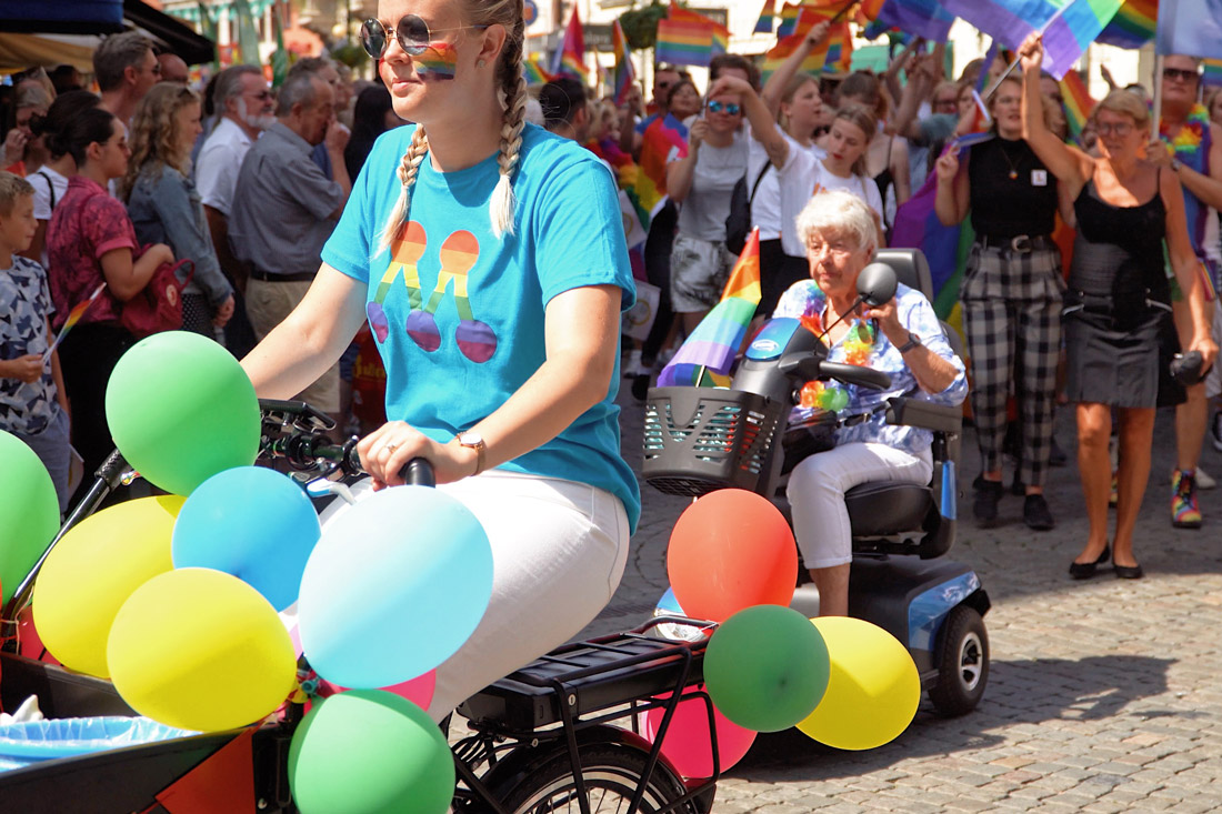 Gay Pride Malmö 2019 Young, old and everyone in between - Malmö Pride 2019 is welcoming everyone © Coupleofmen.com
